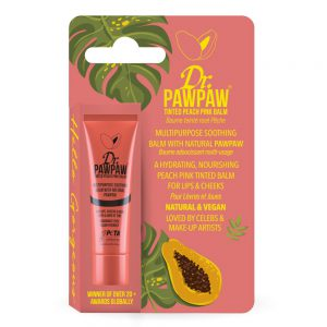Dr.PAWPAW Tinted Peach Pink Balm 10mls